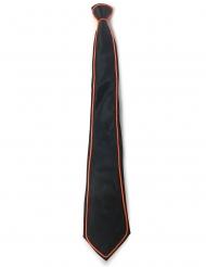 Neonfarbene Krawatte Accessoire für Erwachsene schwarz-bunt