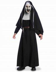 The Nun™-Horrorfilm-Kostüm für Erwachsene schwarz-weiss-braun