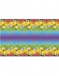 Rainbow-Tischdecke Emoji™ Partyzubehör bunt 137x213cm