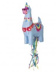 Lama-Pinata Partyzubehör Unterhaltung bunt 50cm