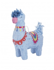 Miniatur-Pinata-Lama Party-Zubehör bunt 16cm