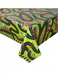 Tischdecke mit Baustellen-Motiv Party-Zubehör bunt 137 x 213 cm