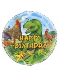 Dinosaurier-Ballon Geburtstags-Geschenk bunt 45cm