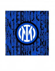 Iner Mailand™-Papierservietten Tischzubehör Fußball 20 Stück 33 x 33 cm