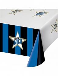 Inter Mailand™-Tischdecke Zubehör für Partys blau-weiss-schwarz 120 x 180 cm