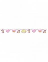 Minnie Maus™-Baby-Girlande Deko-Idee rosa 150 x 13 cm