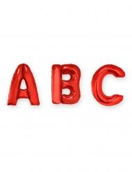 Buchstaben Folienballon Raumdekoration rot 1m