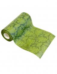 Tropische Tischläufer Partydekoration grün 15 cm x 5 cm