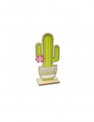 Kaktus-Tischdekoration für Gartenpartys grün 14 cm