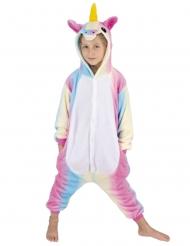 Einhorn-Overall Tier-Verkleidung für Kinder bunt