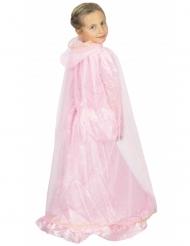 Traumhafter Prinzessinnen-Umhang für Mädchen rosa-gold