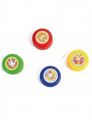 Jo-Jo Spielzeug für Kinder bunt 3,5cm