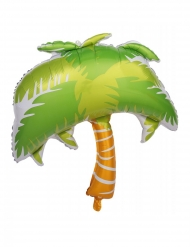 Folienballon Palme für Gartenpartys grün-braun 70cm