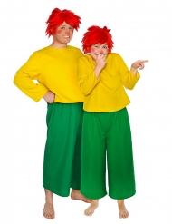 Pumuckl™ Kostüm für Erwachsene grün-gelb