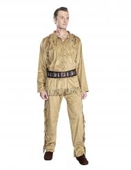 Old Shatterhand™-Indianer-Kostüm Faschings-Verkleidung Winnetou™ braun