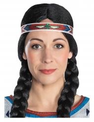 Nscho-Tschi™-Kopfband Indianer-Haarband Winnetou™ bunt