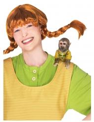 Pippi Langstrumpf™-Herr Nilsson Affe Kostümzubehör für Fasching braun-gelb