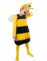 Willi™-Kostüm für Kinder Biene Maja™-Lizenzkostüm gelb-schwarz