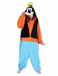 Goofy-Kigurumi™ Kostüm für Erwachsene Overall bunt