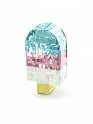Eiscreme Miniatur-Pinata Party-Unterhaltung bunt 6 x 11,5 x 3,5 cm