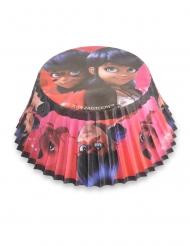 Ladybug™ Cupcake-Förmchen Backzubehör 50 Stück bunt 7 cm