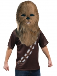 Chewbacca™ Maske für Erwachsene Maskottchen Star Wars™