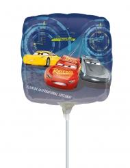 Cars 3™-Luftballon quadratisch Partydeko bunt 23x23 cm