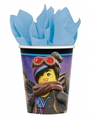 Lego Movie2™-Pappbecher Party-Zubehör 8 Stück bunt 266ml