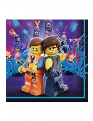 Lego Movie2™-Servietten Tischzubehör 16 Stück bunt 33x33cm