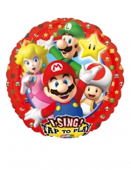 Super Mario™-Folienballon Raumdekoration bunt 71x71cm