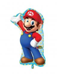 Super Mario™ Aluminium Luftballon 55 x 83 cm