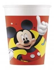 Mickey Maus™-Kunststoffbecher Tischzubehör 8 Stück bunt 200ml