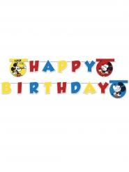 Happy Birthday-Girlande Mickey Super Cool™ bunt 2 m