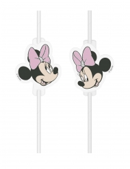 Minnie Maus™-Trinkhalme für Kinder 4 Stück bunt