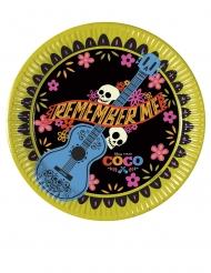Coco™-Pappteller Partyzubehör 8 Stück bunt 20 cm