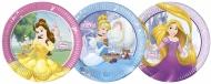 Disney™-Prinzessinnen-Pappteller 8 Stück bunt 23cm