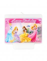 Disney™-Prinzessinnen Geburtstagskerze für Kinder bunt 9x7cm
