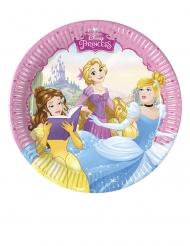 Pappteller-Disney™ Märchen-Prinzessinnen Zubehör 8 Stück bunt 20cm