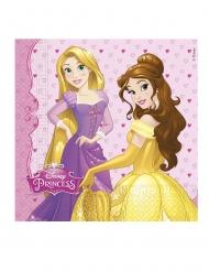 Disney™-Servietten Märchen-Prinzessinnen Tisch-Zubehör 20 Stück bunt 33x33cm
