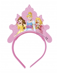 Disney™-Märchen-Tiara Kostümzubehör 4 Stück bunt