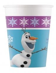 Frozen™-Trinkbecher Tischzubehör für Kindergeburtstage 8 Stück bunt 200ml