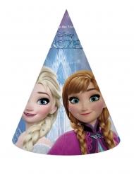 Frozen™-Elsa Partyhüte für Kindergeburtstage 6 Stück bunt