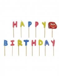 Cars™-Kerzen für Geburtstage 13 Stück bunt