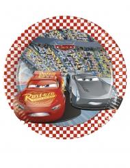 Disney Cars™-Pappteller für Kindergeburtstage 8 Stück bunt 20cm