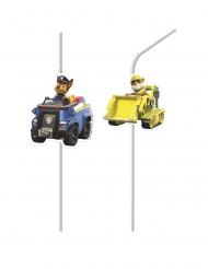 Paw Patrol™-Strohhalme für Kindergeburtstage 4 Stück bunt