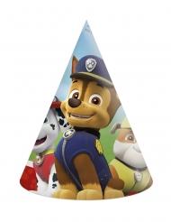 Paw Patrol™-Partyhüte für Kindergeburtstage 6 Stück bunt