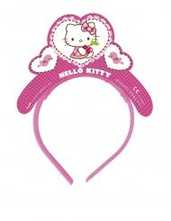 Hello Kitty™-Diadem Mädchen-Accessoire 4 Stück weiss-pink