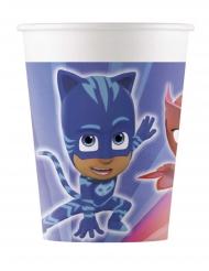 PJ Masks™-Trinkbecher für Kindergeburtstage 8 Stück bunt 200ml