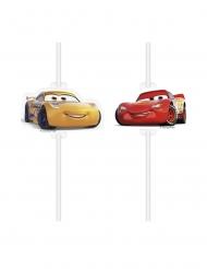 Cars 3™-Trinkhalme für Kinder 4 Stück bunt