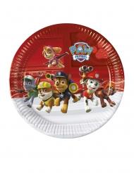 Paw Patrol™-Pappteller Hundestaffel Kindergeburtstag 8 Stück bunt 23cm